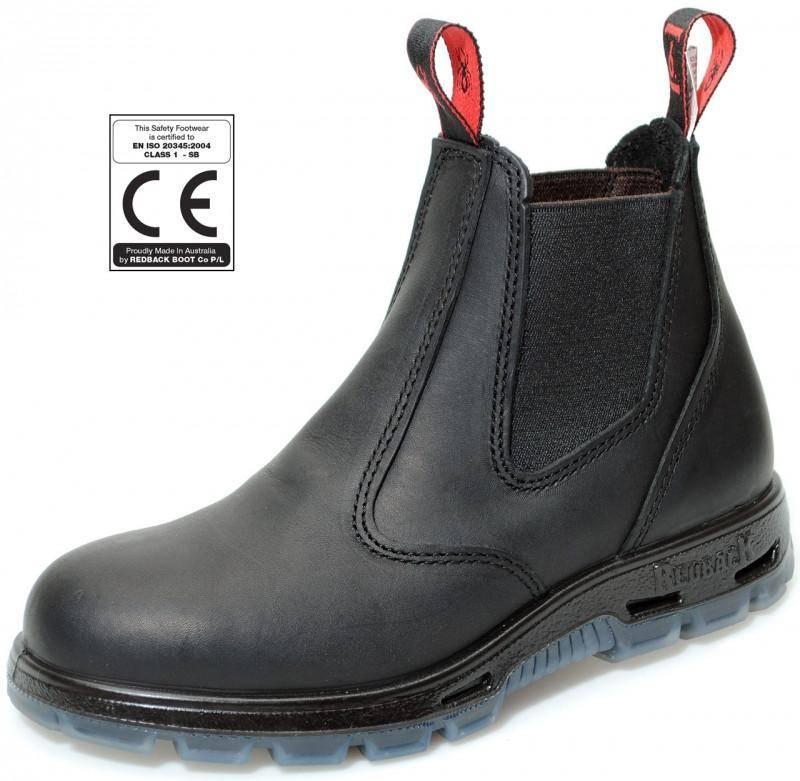 Redback Bobcat Safety Boots USBBK (Black), image