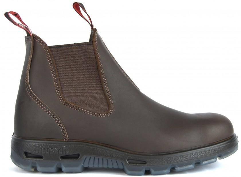 Redback Bobcat Safety Boots USBOK (Dark Brown), image