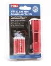 Hilka 1W 60 Lumens Aluminium Torch, image