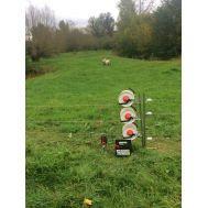 Electric Fencing Three Reel System