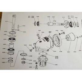 Votex Pt Topper Gearbox Bottom Oil Seal 61699, image