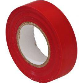PVC Insulation Tape - Red - 19mm x 20m, image