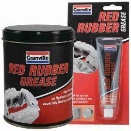 Granville Red Rubber Grease - 70g Tube / 500g Tin, image