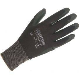 PU Coated Nylon Gloves - Medium Size, image