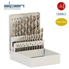 ALPEN Cobalt HSS Jobber Drill Set - Metric - 25 Pieces - (1.0mm to 13mm), image
