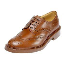 Trickers Bourton Full Brogue 4 Eyelet Shoes, image