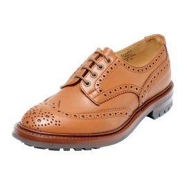 Trickers Keswick Full Brogue 4 Eyelet Shoes (with commando sole), image