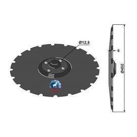 Niaux 200 Discs - 450mm x 5mm Pilot Hole Size - Flat, image