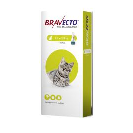 Bravecto Spot Small Cat (1.2-2.8KG) 112.5mg, image