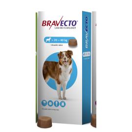 Bravecto Chewable Tablet Large Dog (20-40kg) 1000mg, image