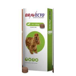 Bravecto Chewable Tablet Medium Dog (10-20kg) 500mg, image