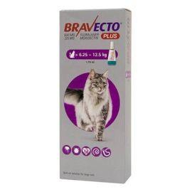 Bravecto PLUS Spot On Large Cat (6.25-12.5KG) 500mg, image