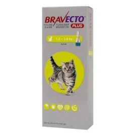 Bravecto PLUS Spot On Small Cat (1.2-2.8KG) 112.5mg, image