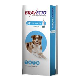Bravecto Spot On Large Dog (20-40kg) 1000mg, image