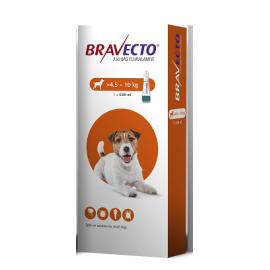 Bravecto Spot On Small Dog (4.5-10kg) 250mg, image