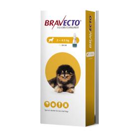 Bravecto Spot On Toy Dog (2-4.5kg) 112.5mg, image