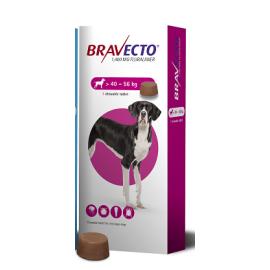 Bravecto Chewable Tablet Extra Large Dog (40-56 kg) 1400mg, image