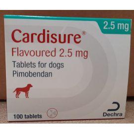 Cardisure 2.5mg (100 tablets), image