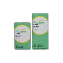 Pexion tablets for dogs 400mg (100's), image