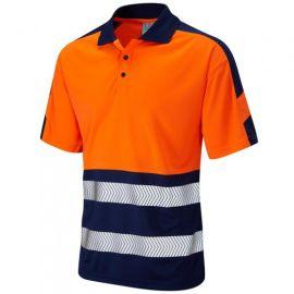Watersmeet ISO 20471 Class 1 Dual Colour Coolviz Plus Hi Vis Polo Shirt, image