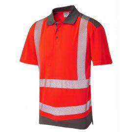 Peppercombe ISO 20471 Class 2 Coolviz Plus Hi Vis Polo Shirt, image