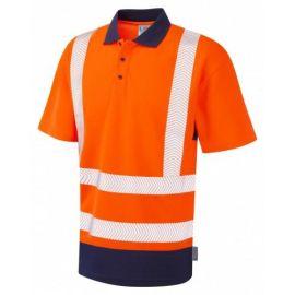 Mortehoe ISO 20471 Class 2 Dual Colour Coolviz Plus Hi Vis Polo Shirt, image