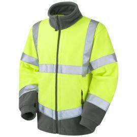 Hartland ISO 20471 Class 3 Hi Vis Fleece Jacket, image