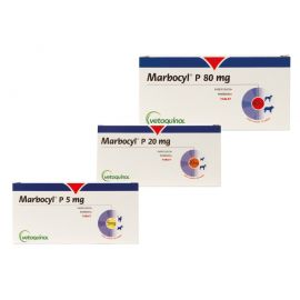Marbocyl P 5mg (each) POM-V, image