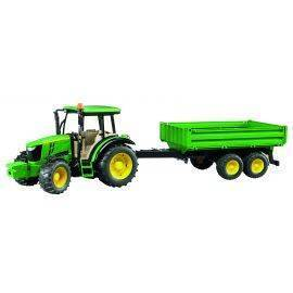 John Deere 5115M with tipping trailer 1:16, image