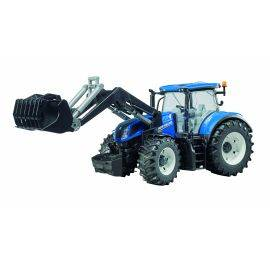 New Holland T7.315 with frontloader, image