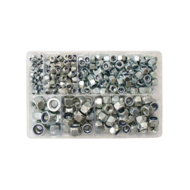 Assorted Metric Nyloc Nuts (400), image
