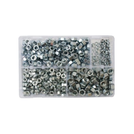 Assorted UNF Steel Nuts (600), image