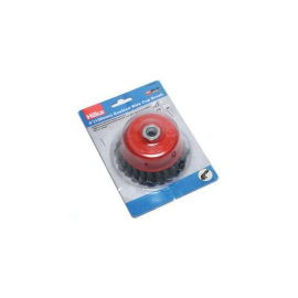 Hilka 4 M14 Knotted Wire Cup Brush, image