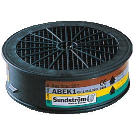 Sundstrom ABEK Filter (Organic/Inorganic Acid, Ammonia, Gas & Vapour), image