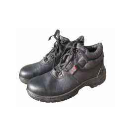 Black Safety Boots Size 9, image