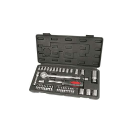 Hilka 43pc 3/8 & 1/4 Drive Socket Set Metric, image