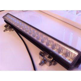 Budget LED lightbar flood beam, image